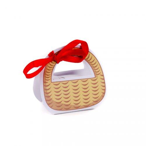 10 mini cestini per confetti Cappuccetto Rosso