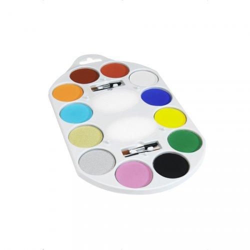 Trucco tavolozza 12 colori + Accessori