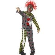 Travestimento Clown Halloween taglia 7-9 anni