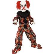 Travestimento da Clown Spaventoso Lusso taglia 10-12 anni