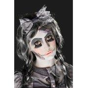 Kit trucco, tatuaggi e ciglia finte Halloween Doll