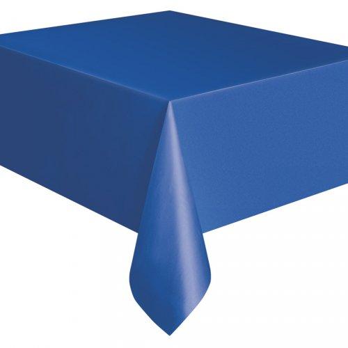 Tovaglia blu oceano tinta unita - Plastica