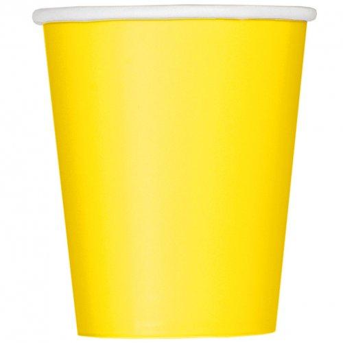 14 Bicchieri Gialli