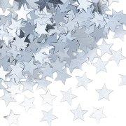 Coriandoli stelle d'argento