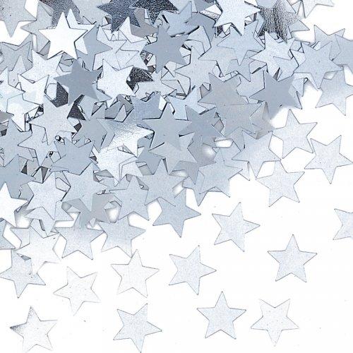 Coriandoli stelle d argento