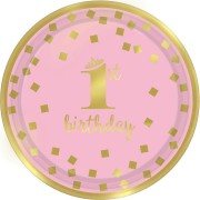 Party box Royal Birthday 1 - Rosa
