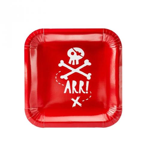 Party box Il Pirata Rosso formato Maxi