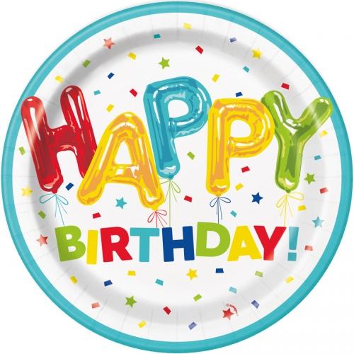 Party box Happy Birthday Fantasia formato grande