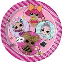 Tema compleanno LOL Surpresa Rosa per il compleanno del tuo bambino