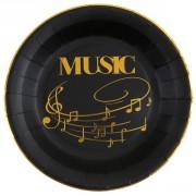 Party box Musica Oro Nero formato grande