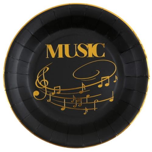 Party box Musica Oro Nero formato Maxi