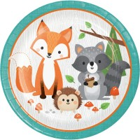 Tema compleanno Animali dei Boschi per il compleanno del tuo bambino