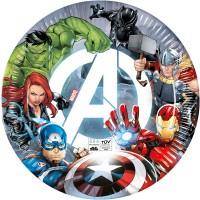 Tema compleanno Avengers  - Compostabile per il compleanno del tuo bambino