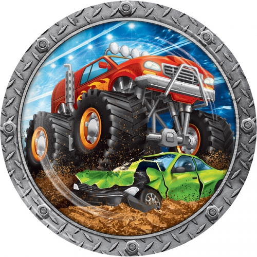 Party box Monster Truck Rally formato Maxi