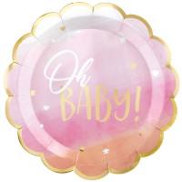 Tema compleanno Oh Baby Girl! per il compleanno del tuo bambino