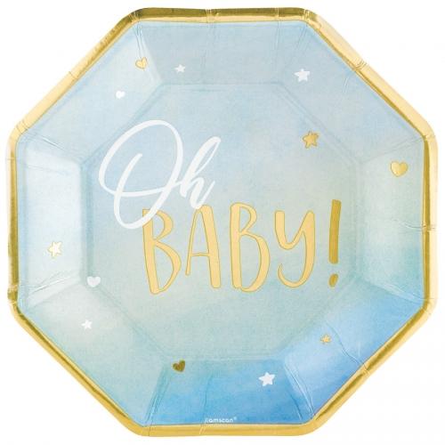 Party box Oh Baby Boy! formato grande