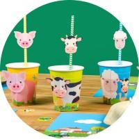 Tema compleanno Animali della fattoria per il compleanno del tuo bambino