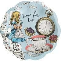 Tema compleanno Alice Vintage Blu per il compleanno del tuo bambino