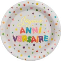 Tema compleanno Palloncino di compleanno multicolore per il compleanno del tuo bambino
