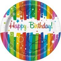 Tema compleanno Happy Birthday Rainbow per il compleanno del tuo bambino
