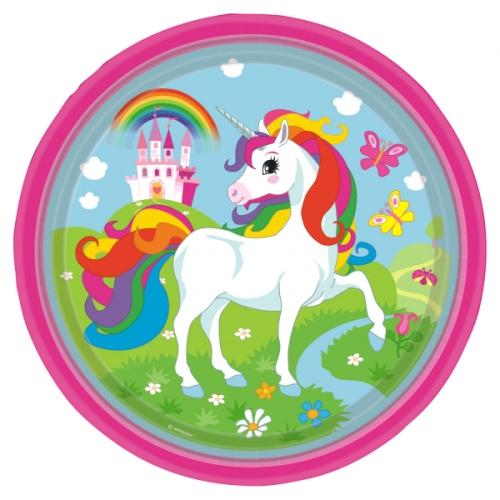 Party box Unicorno Rainbow formato grande