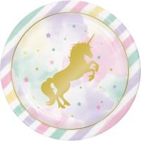 Tema compleanno Liocorno Rainbow Pastello per il compleanno del tuo bambino