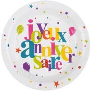 Party box Buon Compleanno Multicolore