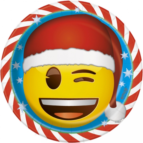 Scatola per festa Emoji Xmas