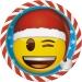 Scatola per festa Emoji Xmas. n°1