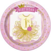 Tema compleanno 1 anno Principessa per il compleanno del tuo bambino