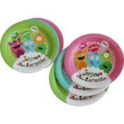 Party box Buon Compleanno Mostri formato Maxi