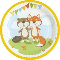 Tema compleanno Volpe e Castoro per il compleanno del tuo bambino